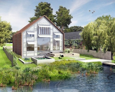 Ready, set, float: Amphibious House gets go-ahead in U.K. | sustainable architecture | Scoop.it