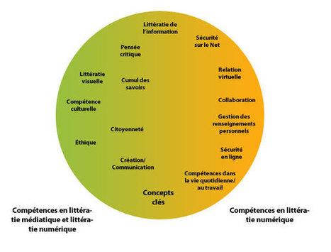 Les points de jonction entre littératie numérique et littératie médiatique | HabiloMédias | Translittératie | Scoop.it