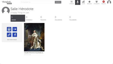 Thinglink : un site pour faire des images interactives | Outils TICE | Scoop.it