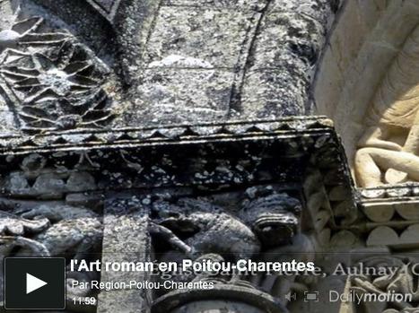 Eté 2011 Visiter le patrimoine roman poitevin et charentais | GenealoNet | Scoop.it