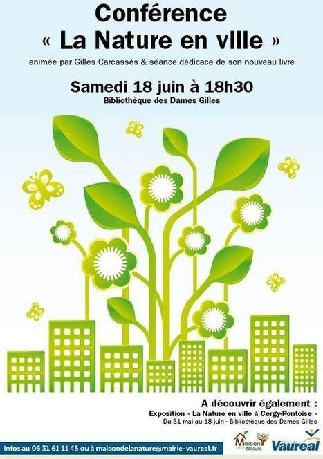 La nature en ville à la bibliothèque des Dames Gilles de Vauréal | Environnement, paysage et biodiversité | Scoop.it