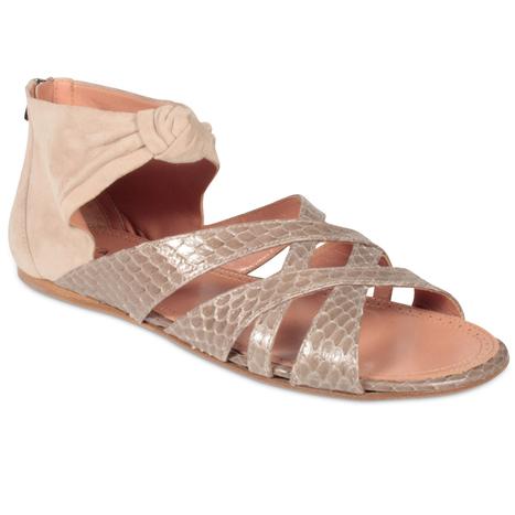 Alaia Shoes Womens Gladiator Python Print Sandals (ALAIA1501) | Designer Womens Shoes | Scoop.it