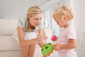Mother-toddler play-time is more interactive and educational with old-fashioned toys | 21st Century Parenting | Scoop.it
