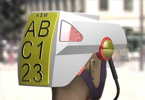 Niente più infrazioni, ciclisti con numero di targa su retro casco - Motori | Cars and motors | Scoop.it