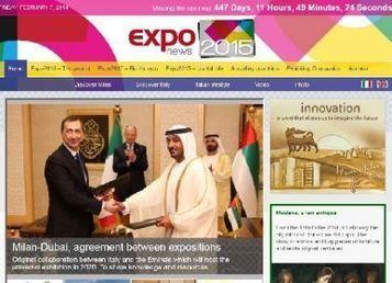 Expo Milano 2015, il primo giornale è on line - ECONOMIA | Turismo conversazionale | Scoop.it