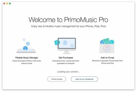 PrimoMusic, simplissime, rapide et ceci, même sans avoir iTunes....   Chroniques libelluliennes   Scoop.it