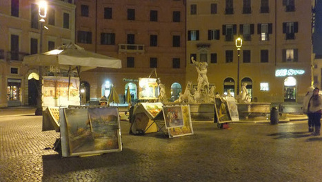 Piazza Navona à Roma, ma place favorite | Univers du Voyage | Scoop.it