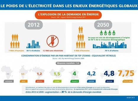 L'explosion de la demande mondiale en énergie (infographie) | Le groupe EDF | Scoop.it