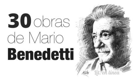Lit. en línea : 30 obras de Mario Benedetti (descarga gratis) | Arte y Cultura en circulación | Scoop.it