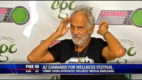 Tommy Chong introduces his Wellness medical marijuana brand in Arizona | Vloasis vlogging | Scoop.it