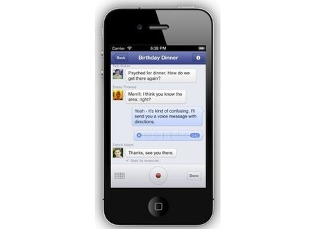 Facebook adds voice recording to Messenger, testing VoIP service in Canada | iGeneration - 21st Century Education | Scoop.it