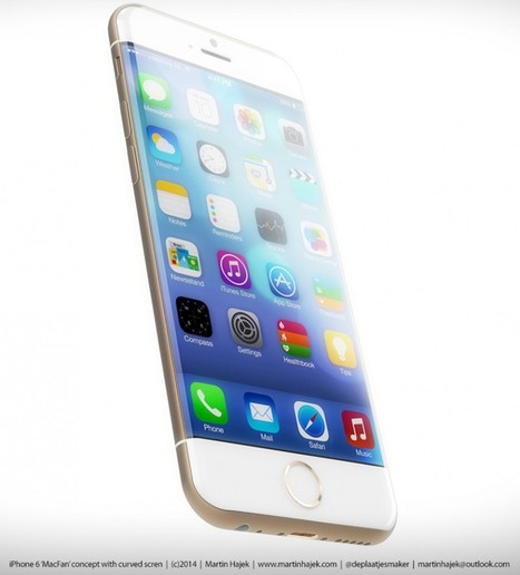 New iPhone 6 Renderings Highlight Curved Display, Rounded Corners | Apple | Scoop.it