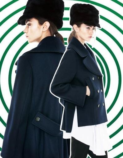 Manteaux: les nouvelles attitudes de 2013 - Elle   La mode en vestes et manteaux   Scoop.it