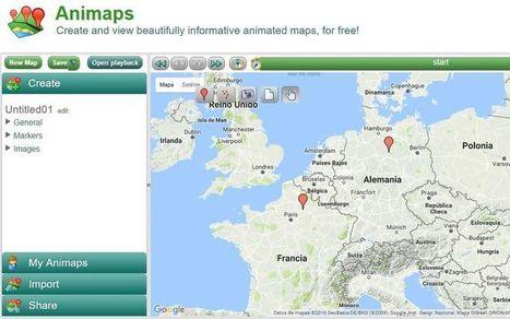 Animaps: crea mapas informativos, animados e interactivos | Utilidades TIC para el aula | Scoop.it