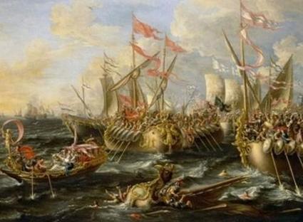 La Batalla de Accio o Actium   Roma Antigua   Scoop.it