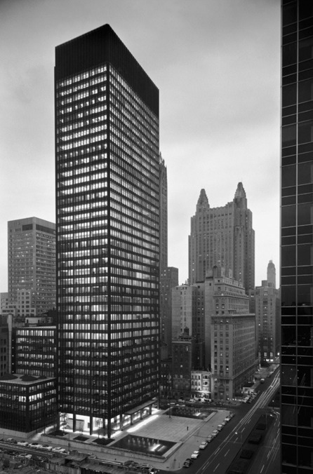 [Mies van der Rohe] Seagram: Union of Building and Landscape: Places: Design Observer | The Architecture of the City | Scoop.it