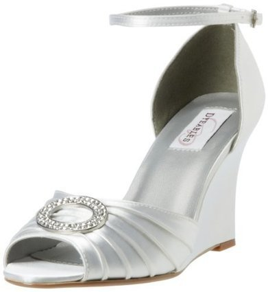 Dyeables Women's Etta Wedge Pump   Wedding Shoes   Scoop.it