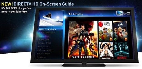 DirecTV shows off its new HD UI with a website and trailer, still no release date   Social TV is everywhere   Scoop.it