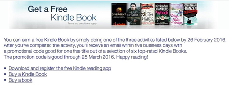 Amazon Launches a Free Kindle e-Book Program in the UK | Pobre Gutenberg | Scoop.it