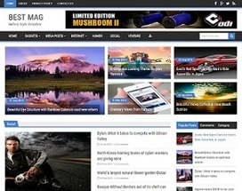 Best Mag Blogger Template | Blogger Templates Gallery | Blogger themes | Scoop.it