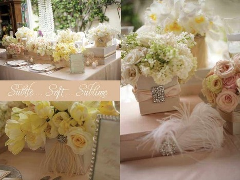 Blush colored wedding inspiration | San Diego Wedding Blog | Flowers for all occasions | Scoop.it