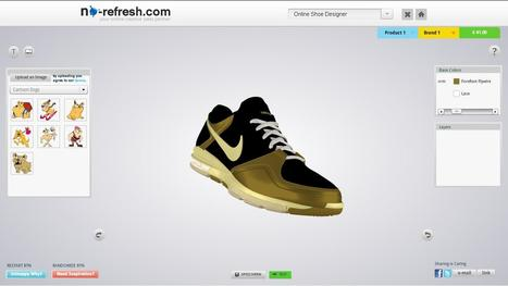 iPad compatible online shoes design tool to let your end-users design beloved pair of preeminent shoes | T-shirt Design Software | Scoop.it