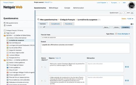 Créer QCM, Exercices, Tests formatifs avec application Web (libre, 14 types de questions, multi supports) | | Ressources pour la Technologie au College | Scoop.it