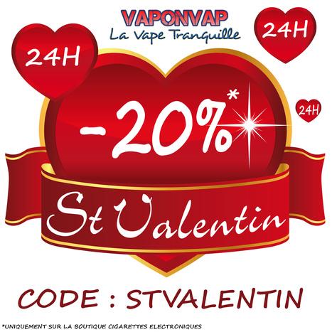 VAPONVAP faite la SAINT VALENTIN avec vous ! | Infos cigarettes éléctroniques | Scoop.it