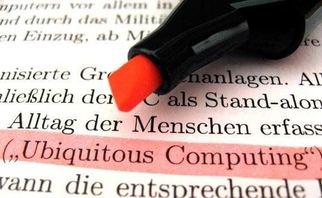 Our digital future 4: Pervasive computing | APRENDIZAJE | Scoop.it