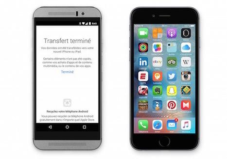 Apple dément travailler sur un outil pour passer facilement d'iOS vers Android   Applications Iphone, Ipad, Android et avec un zeste de news   Scoop.it