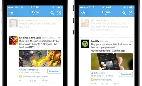 Twitter Takes a Page From Facebook, Announces App Install Ads | Digital-News on Scoop.it today | Scoop.it