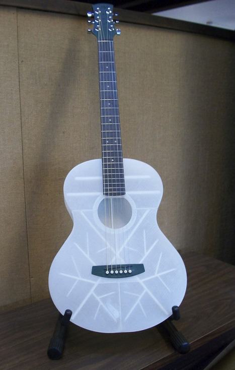 A Working 3D Printed Guitar | 3D Printing and Fabbing | Scoop.it