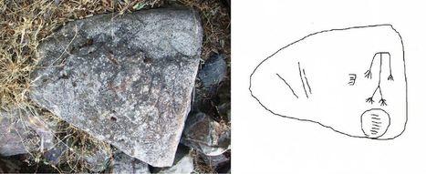 Encuentran en Pedro Abad una estela de guerrero de hace 3.000 años | ArqueoNet | Scoop.it