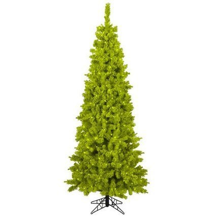Finding And Decorating A Lime Green Christmas Tree   Holiday Decorations   Scoop.it