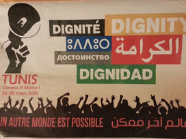 Trade unions and global restructuring: World Social Forum: where next after Tunis? | Another World Now! | Scoop.it