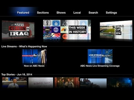 ABC News Comes to Apple TV, for Free | Digital-News on Scoop.it today | Scoop.it