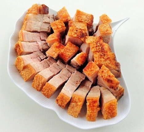 Cùng học nấu ăn với Thịt heo quay húng lìu | Dịch vụ điện lạnh | Scoop.it