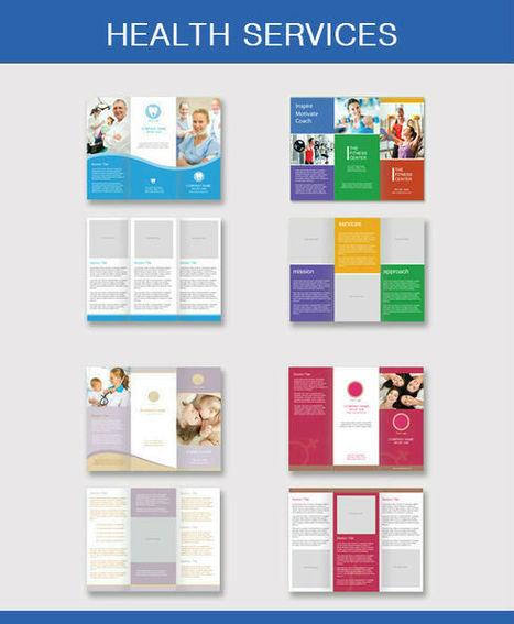 Standard Brochure Sizes: View List of Size Options at UPrinting.com | Marketing and Design | Scoop.it