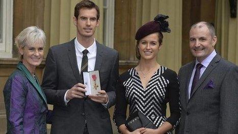 Tenis - Murray, investido Oficial del Imperio Británico por el príncipe ... - Yahoo Eurosport ES | Tenis Profesional | Scoop.it