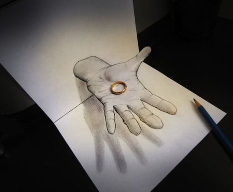 Trippy 3D Pencil Drawings | Drawing References and Resources | Scoop.it