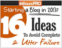 Starting a Blog in 2013? 16 Ideas To Avoid Complete and Utter Failure | Sport Blogs | Scoop.it