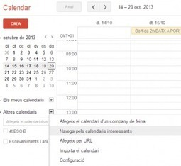 Utilizar calendarios de GAFE (Google apps for education) para reservar aulas y recursos | Tecnocentres | google + y google apps | Scoop.it