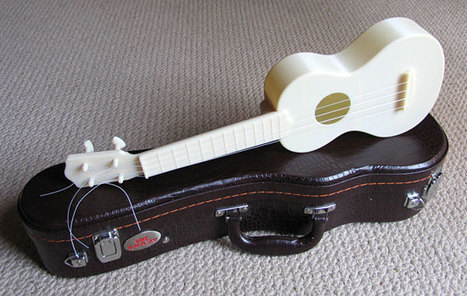 Some Intriguing Notes on a 3D Printed Ukulele | Additive Manufacturing News | Scoop.it