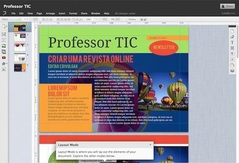 LucidPress, criar revistas online de forma simples | Curadoria de Conteúdo | Scoop.it