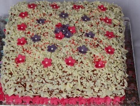 Çikolatalı Muzlu Süslü Pasta | Pasta Tarifleri | Scoop.it