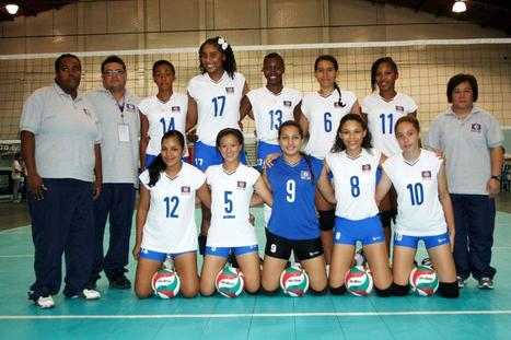Belize U-18 Female Volleyball Team Takes 4th Place | Culture | Scoop.it