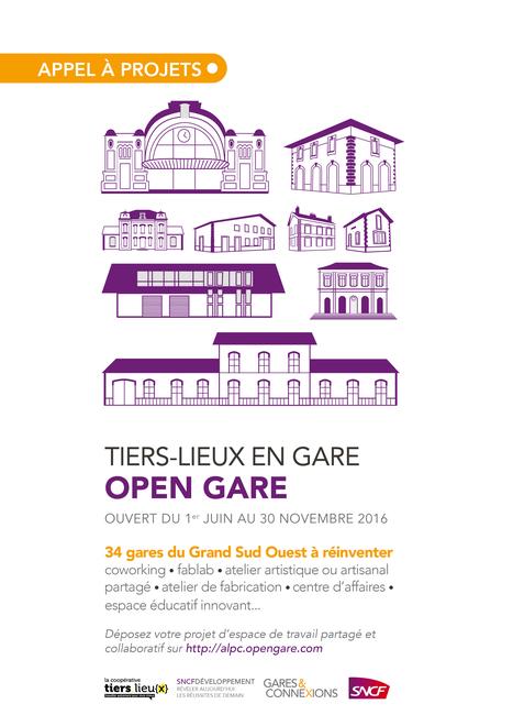 Open Gare // des tiers-lieux dans les gares | Le Zinc de Co | Scoop.it