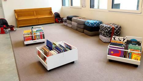Bibliothèques : le mobilier au coeur des usages | Bibliothèques en évolution | Scoop.it