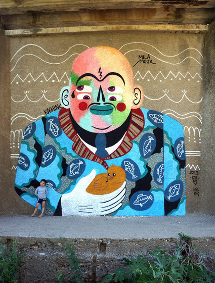 Global Street Art • Breaking Moulds: An Interview with Kashink from Paris | World of Street & Outdoor Arts | Scoop.it