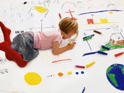 Los niños y los colores vivos sus favoritos en la decoracion www.paratubebe.net | Guellcom Creative Solutions | Scoop.it